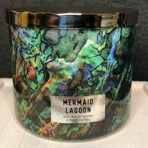 BBW 3 wick candle Mermaid Lagoon **USED**